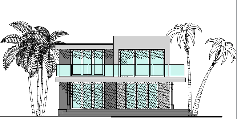 Fairway Rear Elevation
